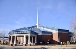 Widoczny kościół baptystów, Bartlett, TN Obrazy Royalty Free
