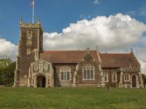 Widoczny Maryjnego Magdalene kościół na Sandringham nieruchomości w Norfold obraz stock