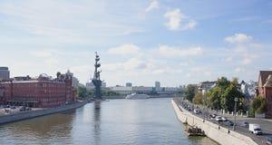 Widok Środkowy dom artyści stanu Tretyakov galas Obraz Royalty Free