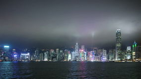Widok środkowy Hong Kong zdjęcie wideo