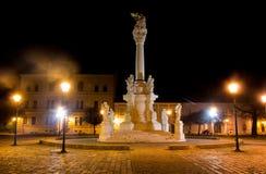 Widok Świętej trójcy kwadrat w Osijek Obrazy Royalty Free
