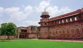 Widok Agra fort w Agra, India Fotografia Royalty Free