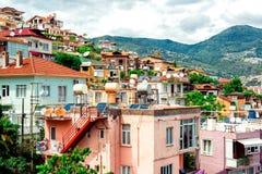 Widok Alanya miasteczko zdjęcie royalty free