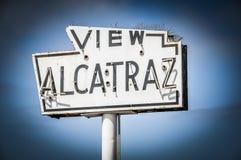 Widok Alcatraz Fotografia Stock