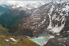 Widok Alps Zdjęcie Stock