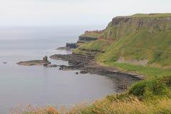 Widok Antrim wybrzeże Obrazy Royalty Free