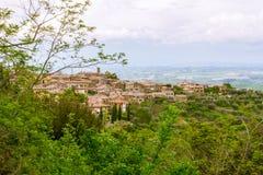 Widok antyczna wioska Fotografia Royalty Free
