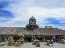 Widok Artesenal jarmark w Chiloe, Chile Zdjęcia Stock