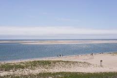 Widok Atlantycki ocean, Cape Cod zdjęcia royalty free