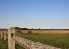 Widok Atlantycki ocean - Nowa Anglia wybrzeże Obrazy Stock