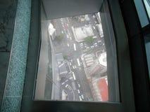 Widok Auckland, Nowa Zelandia od niebo pokładu nieba wierza Zdjęcia Royalty Free
