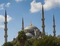 Widok Błękitny Meczet w Istanbuł Zdjęcia Stock