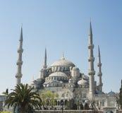 Widok Błękitny meczet w Istanbuł Fotografia Stock