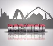Widok Bagdad Fotografia Stock