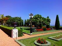 Widok Bahai ogródy Haifa atrakcje turystyczne Izrael Obraz Stock