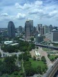 Widok Bangkok metropolita zdjęcie stock