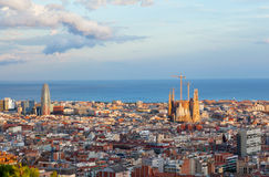 Widok Barcelona Obraz Royalty Free