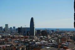 Widok Barcelona Obrazy Stock