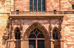 Widok Basel ministra katedra fotografia stock