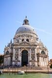 Widok bazylika St Mary zdrowie w Wenecja, Włochy Zdjęcie Stock