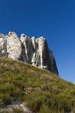 Widok Belokuzminovka kredowi Rockies Fotografia Royalty Free
