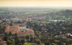 Widok Bergamo Zdjęcie Stock