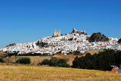 Biały miasteczko, Olvera, Andalusia, Hiszpania. obrazy royalty free
