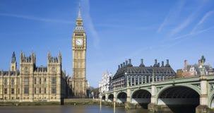 Widok Big Ben i domy parlament Fotografia Stock