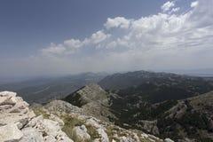Widok biokovo góra Obraz Stock