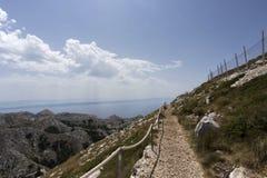 Widok biokovo góra Fotografia Royalty Free