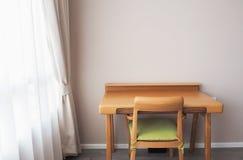 Widok biurko w pokoju Zdjęcie Royalty Free