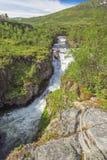 Widok Bjoreio rzeka fotografia stock