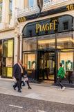 Widok bogaci więzi ulica w London zdjęcie royalty free