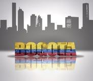 Widok Bogota Fotografia Royalty Free