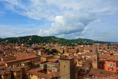 Widok Bologna, Włochy Zdjęcia Stock