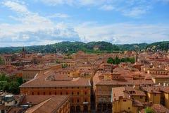 Widok Bologna, Włochy Fotografia Royalty Free