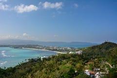 Widok Boracay wyspa w Filipiny Zdjęcia Royalty Free