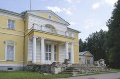 Widok Bratsevo rezydenci ziemskiej dom Moskwa obrazy royalty free