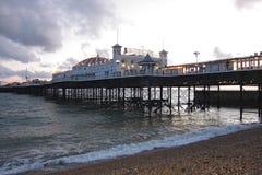 Widok Brighton molo przy zmierzchem Obraz Royalty Free