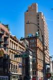 Widok Broadway ulica, Manhattan, NYC obrazy royalty free