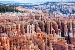 Widok Bryka jaru park narodowy w Utah Zdjęcia Stock