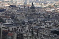 Widok Budapest śródmieście zdjęcia stock