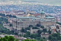Widok Budapest śródmieście obrazy royalty free