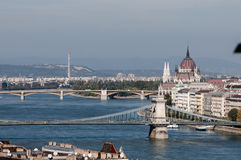Widok Budapest fotografia stock