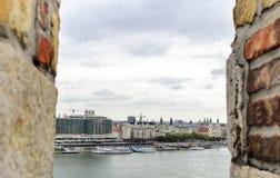Widok Budapest od wzrosta Obraz Royalty Free