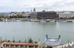 Widok Budapest od wzrosta Obrazy Royalty Free