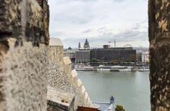 Widok Budapest od wzrosta Fotografia Stock