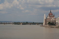 Widok Budapest, rok 2008 Zdjęcie Royalty Free