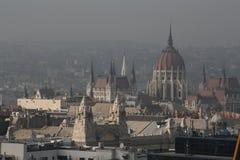 Widok Budapest, rok 2008 Obraz Royalty Free
