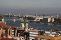 Widok Budapest, rok 2008 Obraz Stock